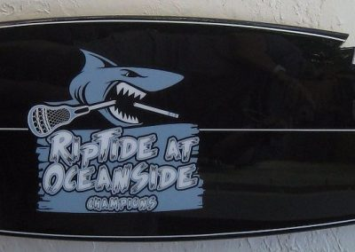sports team surfboards