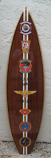 military surf board