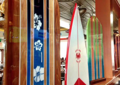 surfboards for decoration