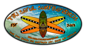 Tiki Soul Decorative Surfboard Art